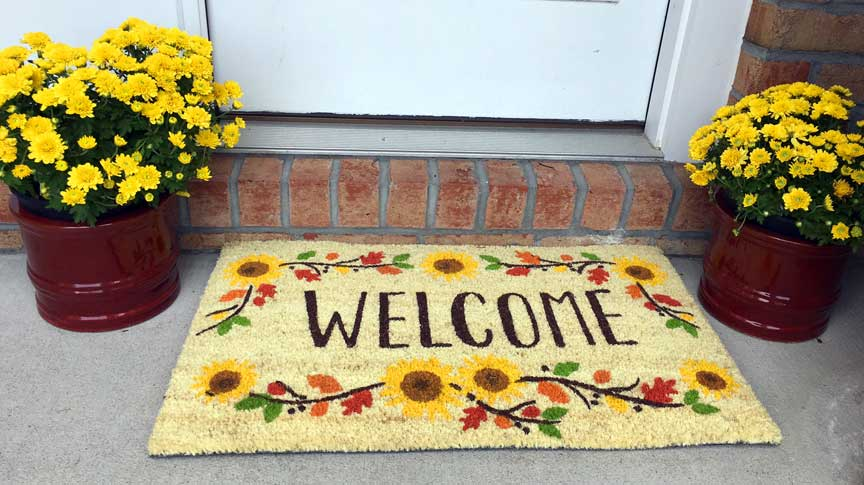 fall-door-mat
